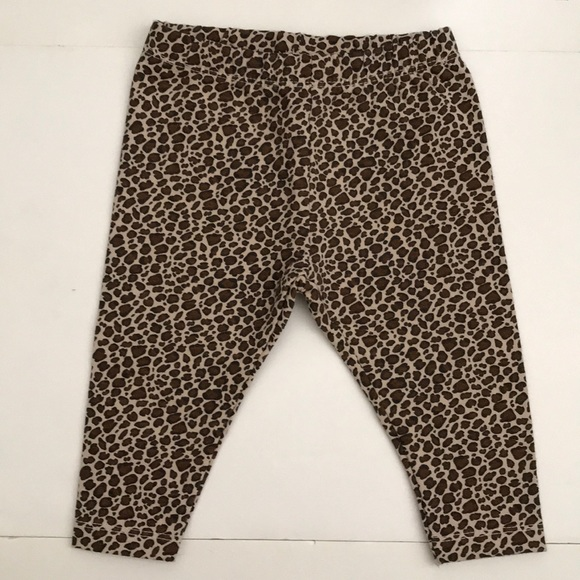 3922a7c3be0a Zara Bottoms | Nwt Babygirl Animal Print Leggings | Poshmark